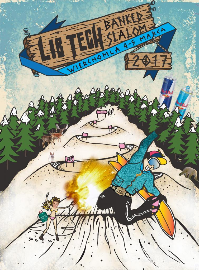Lib Tech Banked Slalom